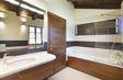 House B: Family bathroom with massage bath tub,wc & bidet