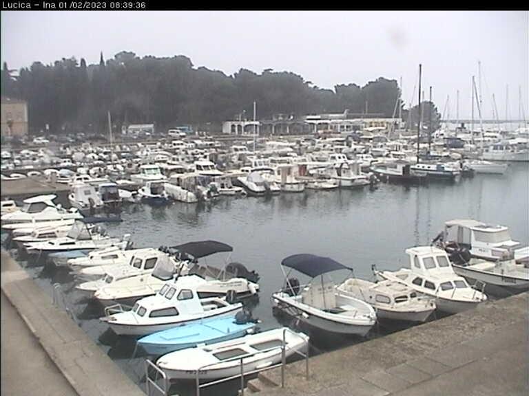 Porec Live Cam, Croatia – Central Square
