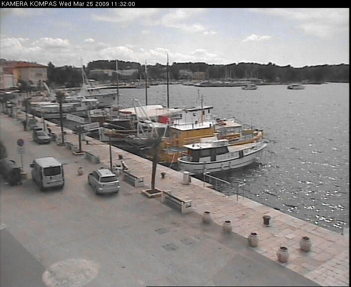 Porec webcam - Porec bay webcam, Istria, Istria